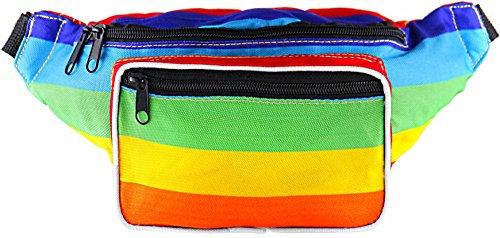 eltasche Einheitsgröße Regenbogen (mehrfarbig) (Stolz-regenbogen)