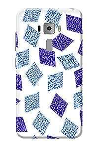 Asus Zenfone 3 ZE520KL Back Cover Printed KanvasCases Premium Designer 3D Hard Case (5.2 INCH)