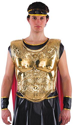 Kostüm Brustpanzer - Carnival Toys 1837 - Römer Brustpanzer, Gold