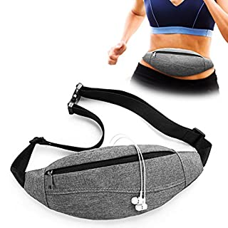Aodoor Waist Packs for sport, Waist Bag Lightweight Running Pouch unisex for Running Hiking Outdoor Sport Hiking