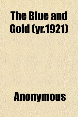 The Blue and Gold (yr.1921)