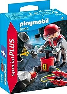 PLAYMOBIL Especiales Plus- Explosión de Rocas, Multicolor (9092)