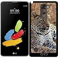 Custodia per LG Stylus 2 - Gatto Leopardo Tigre Leone by WonderfulDreamPicture