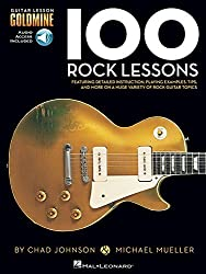 100 Rock Lessons - Guitar Lesson Goldmine Series (Book/CD) by Michael Mueller (2013-03-01)