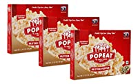 PopEat Butter Pepper Microwave Popcorn (Pack of 3 X 60 Grms)