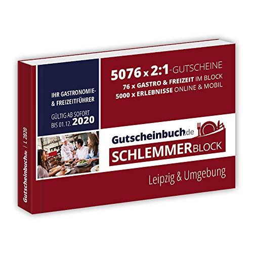 Gutscheinbuch.de Schlemmerblock Leipzig & Umgebung 2020