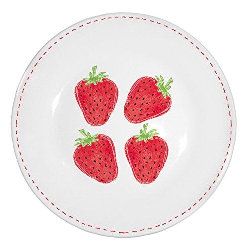 PPD Porzellan Dessertteller Kuchenteller Teller Erdbeere Fashion Strawberry