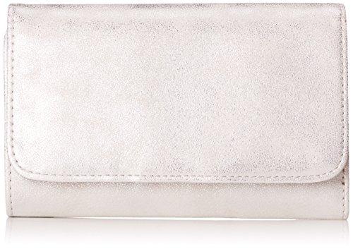 s.Oliver Bags Damen Portemonnaie Geldbörse, Silber (Silver), 2,5x10x15 cm