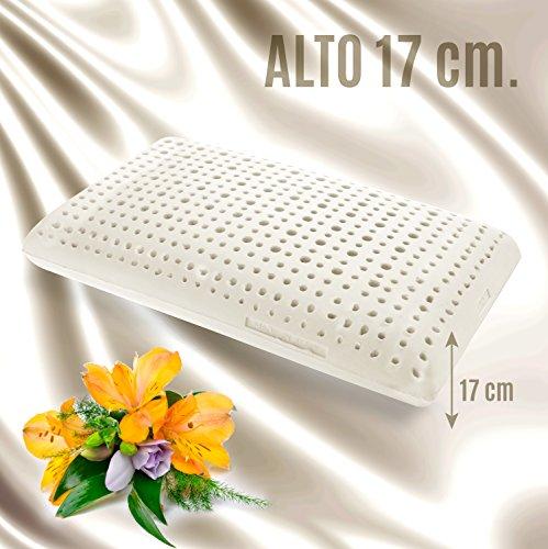 goldflex-cuscino-ortopedico-in-lattice-naturale-alto-17cm-forma-a-saponetta-con-foratura-passante-e-