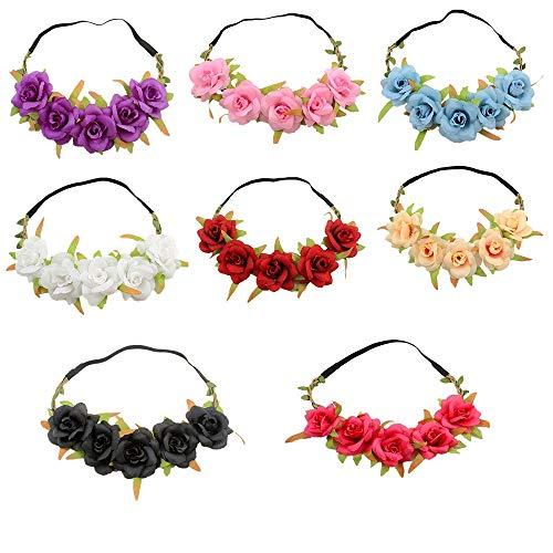 tt Crown Garland Festival Hochzeit Haarkränze Stirnbänder Party Dekoration Kopfschmuck Kopfschmuck Mädchen Kinder Haarschmuck ()
