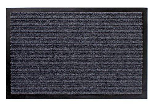 Schmutzfangmatte grau - 180 cm x 120 cm - Fußmatte Fußabtreter Türmatte Außen