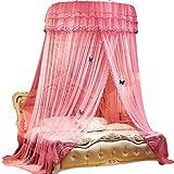 Yizunnu, tenda a baldacchino per letto principessa, zanzariera per letto matrimoniale