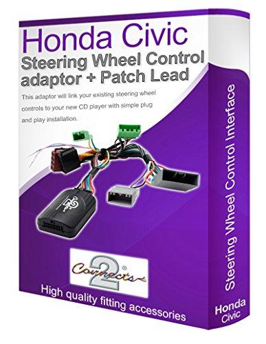 Honda Civic - Adaptador de Cable estéreo para Coche, Conecta los Controles del Volante