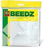 SES Creative - Tableros de clavijas para cuentas de planchar, transparente, (00787)