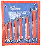 GLOBUS Combination Spanner with NON-SLIP...