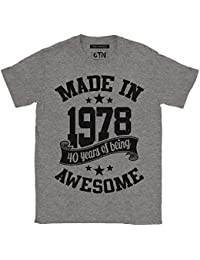 Made in 1978 40 Years Of Being Awesome T Shirt