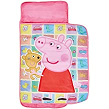 ReadyBed 412PED - Sábana enrollable súper cómoda con diseño Peppa Pig, color rosa