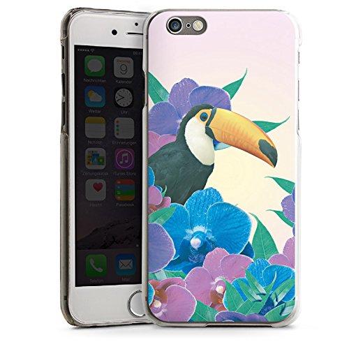 Apple iPhone 4 Housse Étui Silicone Coque Protection Perroquet Oiseau Tucan CasDur transparent