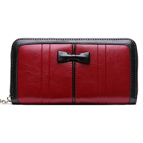 HT  Women Wallet, Damen Clutch Gelb