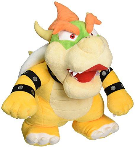 Nintendo Offizielles Super Mario Bowser Plüsch, 33cm groß