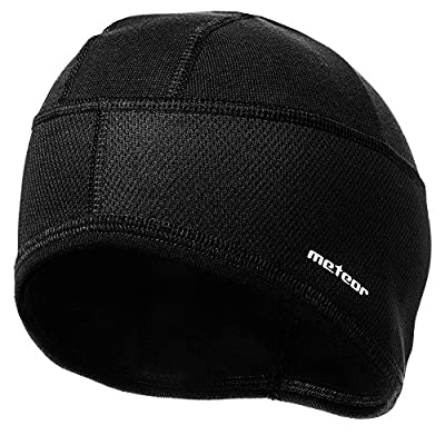 meteor Beanie Hat Winter Skull Cap Windproof Cycling Running Skiing Snowboard Motorcycle Sports Under Helmet Antibacterial Quick Dry Stretchable Warm Thermal Outdoors Men Women Boys Girls One Size from markArtur