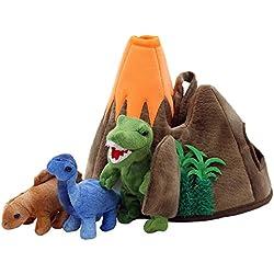 The Puppet Company–Hide Away marionetas–Dinosaurio volcán