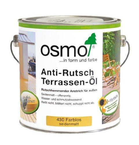 Preisvergleich Produktbild OSMO Anti-Rutsch Terrassen-Öl 430 farblos seidenmatt 2,5L
