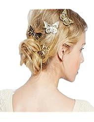 S-246  Set mit 12 Stück Kinder Haarclips Haarspangen Haarschmuck ca 4 cm