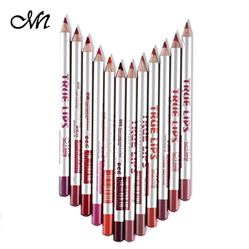Me Now True Lips Lip Liner Pencil Set of 12