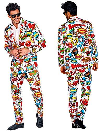 Checklife 60er Jahre POP Art Style Anzug Gr. M