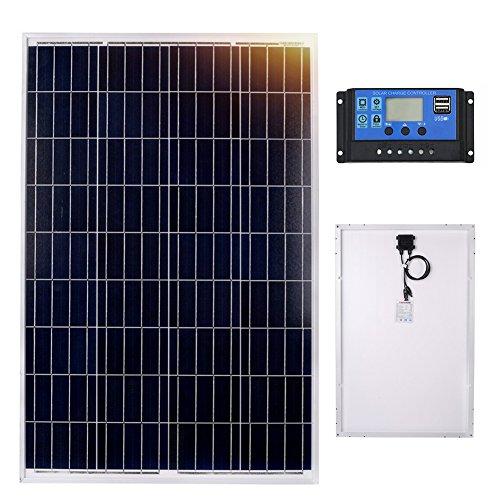 El panel solar poly DOKIO 100W es un módulo fotovoltaico autónomo, compacto y robusto, es la solución práctica e ideal para aplicaciones sin conexión a la red eléctrica. La selección de módulos fuera de red de DOKIO ofrece soluciones incluso par...