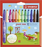STABILO power max 12er Etui - Filzstift