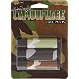 Fox Outdoor Scorpion 3-Tubes Face Paint Camouflage