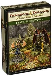 Farideh, tieffelin Warlock - Dungeons & Dragons