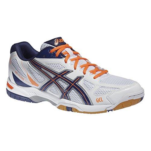 asics-gel-flare-men-5-zapatos-de-sport-homme-blanc-orange-medieval-b40pq-0151-white-medevial-orang-4