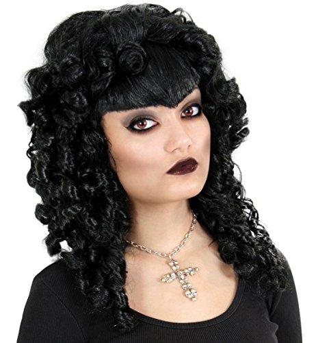 Kostüm Zubehör Damen Perücke Gothic Star zu Karneval, Halloween
