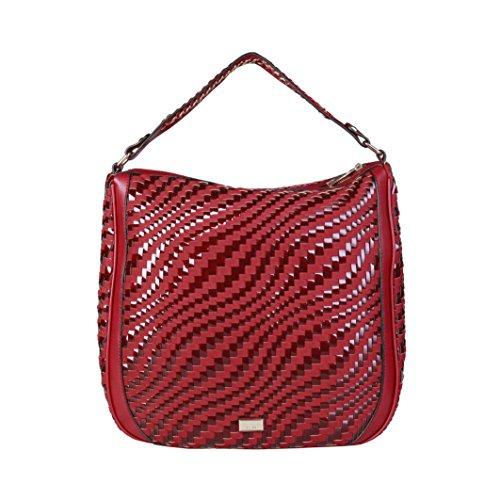 Cavalli Class - Sac porté épaule pour femme (C41PWCBU0022_060-RED) - Rouge