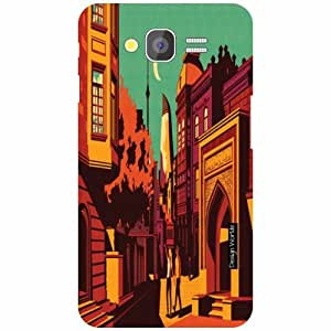 Design Worlds Samsung Galaxy Grand 2 Back Cover - City Designer Case and Covers
