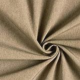 Fabulous Fabrics Softshell Melange – braun — Meterware