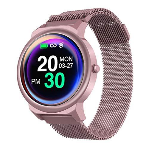 Multifunktions-Touchscreen Sport Chronograph Schritt Herzfrequenz Blutsauerstoff-Tracker Informationen prompt GPS-Positionierung wasserdicht intelligente Sportuhr/Kompatibel mit iOS Android-Gerät