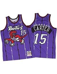 Vince Carter Toronto Raptors Mitchell & Ness Authentic 1998 Purple NBA Jersey Maillot