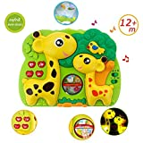 INvench Kitz Slumber Buddy - 2 in 1Nachtlicht Kinderzimmer mit Musik&Projektor ideal als Einschlafhilfe für Baby & Kinder