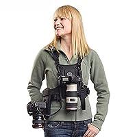 Présentation ceinture multifonction conçu pour les photographes qui prennent un long voyage, qui peut être utilisé pour combinedly avec plusieurs sangles selon différents besoin personnelle. En tissu de nylon et maille, compacité et fitness, confort ...