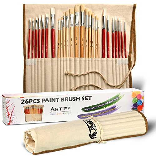 artify-26-pcs-paint-brushes-art-set-for-acrylic-oil-painting-a-kit-of-high-quality-hog-and-nylon-hai