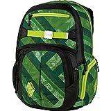 Nitro Rucksack Hero, Schulrucksack, Schoolbag, Daypack, wicked green, 52 x 38 x 23 cm, 37 L