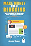 Make Money From Blogging: Give up your day job and earn a 6 figure income from blogging while working from home