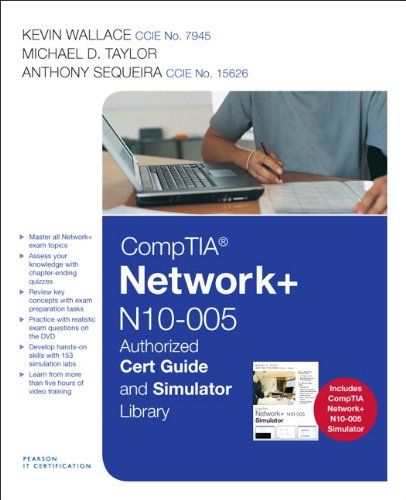 CompTIA Network+ N10-005 Cert Guide and Simulator Library (Pearson IT Certification) por Kevin Wallace