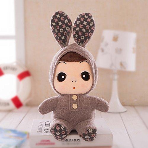 Preisvergleich Produktbild Edealing (TM) 15,7 Zoll Adorable weichen Plüsch Puppe Spielzeug gefüllte Puppe Geschenke für Kinder Baby -Brown