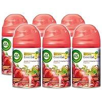 Air Wick Freshmatic Ultra Automatic Spray Air Freshener Refill, Apple Cinnamon Medley, 6.17 Ounces (Case of 6)