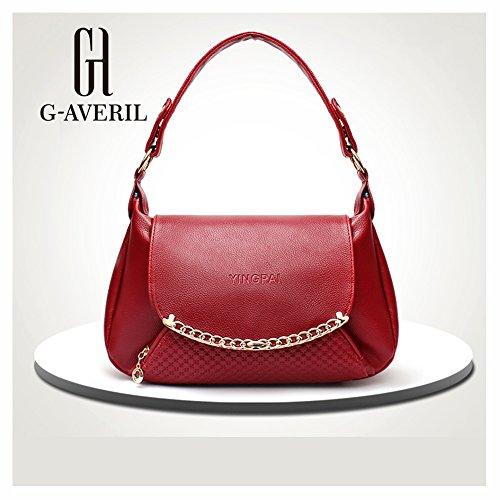 G-AVERIL, Borsa a zainetto donna Blu Blue Wine red